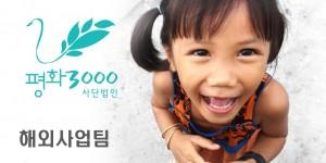 [채용] 평화3000 해외사업팀 활동가 채용 공고