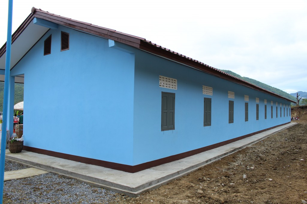 준공된 새 건물