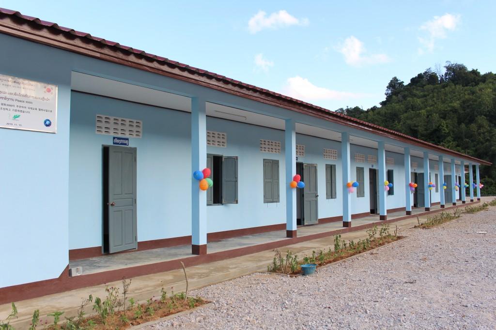 '롱엇 초등학교' 건축 후