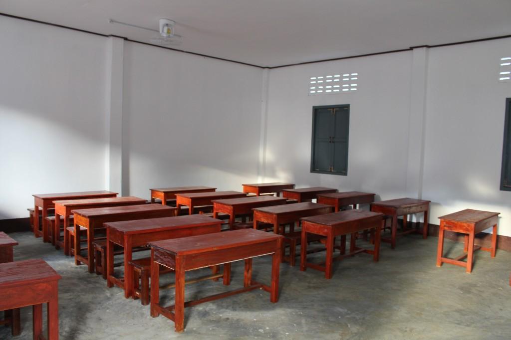 신축된 '롱엇 초등학교' 내부